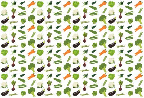 fonas, apdaila, ornamentu, spalva, kūrybingas, modelis, tapetai, iliustracija, daržovės, sveikas, maistas, valgymas, daržovės