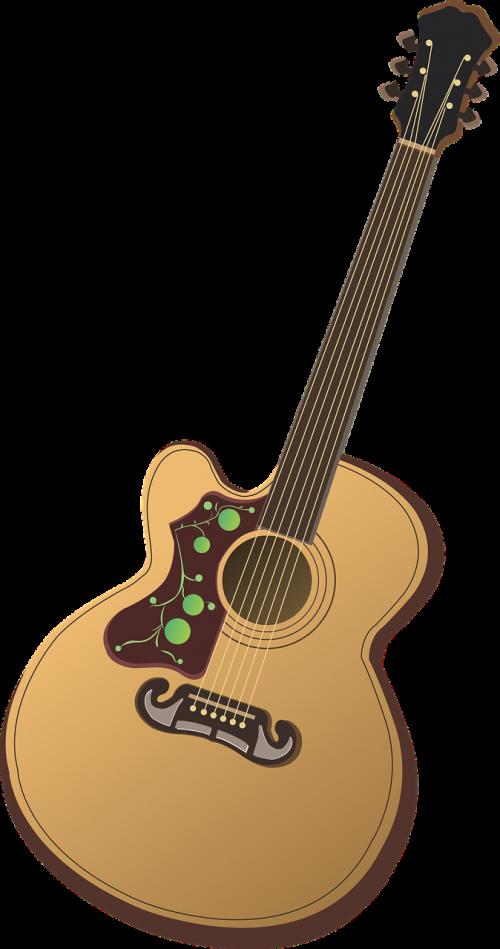 gitara,gitaros vektorius,liaudies gitara,liaudies gitaros vektorius,muzika,liaudies,instrumentas,muzikinis,klasikinis,dainuoti,nemokama vektorinė grafika