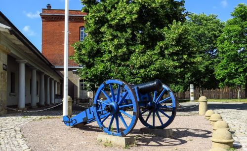 pistoletas,citadel erfurt,mėlynas,Senovinis