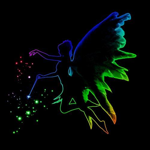 fėja, spalvos, stebuklinga, fėja