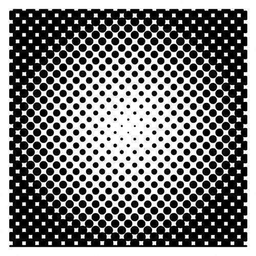 Iliustracijos, clip & nbsp, menas, iliustracija, grafika, fonas, abstraktus, modelis, retro, formos, juoda, taškai, pusfotonas, pusė & nbsp, tune, pusiau taškų & nbsp, taškai, pusiau taškai