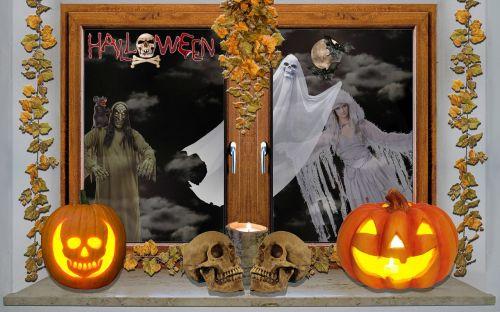Halloween,moliūgas,creepy,vaiduoklis,kaukolė ir skersmens kaulai,baugus,žėrintis moliūgas,keista,rudens apdaila,Halloweenkuerbis