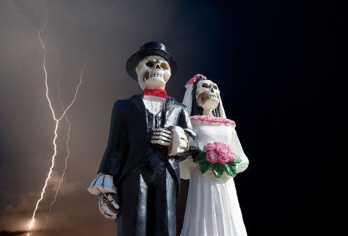 Halloween,skeletas,Vestuvės,baugus,siaubas,Spalio mėn,Zombie,vaiduoklis,ruduo,mirtis,miręs,creepy,baisu,košmaras,velnias,nuotaka,jaunikis,Undead