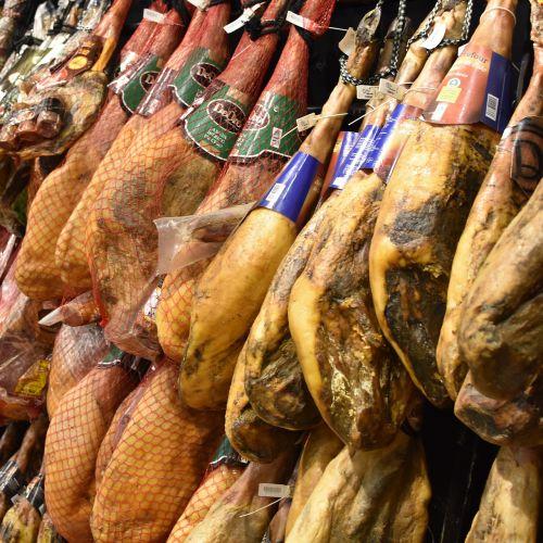 kumpis,maitinimas,mėsa,maistas,Pata negra,džiovintas kumpis,džiovinti mėsa,serrano kumpis