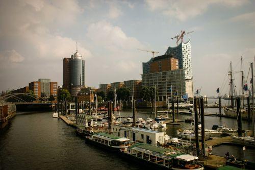 Hamburgas, Uostas, Laivas, Vokietija, Boot, Vanduo, Uosto Miestas, Šiaurinė Vokietija