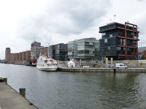 Hamburgas,  Hanzos Miestas,  Architektūra,  Uosto Miestas,  Miestas,  Pastatas,  Šiuolaikiška,  Laivas,  Uostas