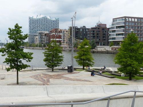 Hamburgas,  Hanzos Miestas,  Architektūra,  Uosto Miestas,  Miestas,  Pastatas,  Šiuolaikiška,  Elbės Filharmonijos Salė,  Uostas