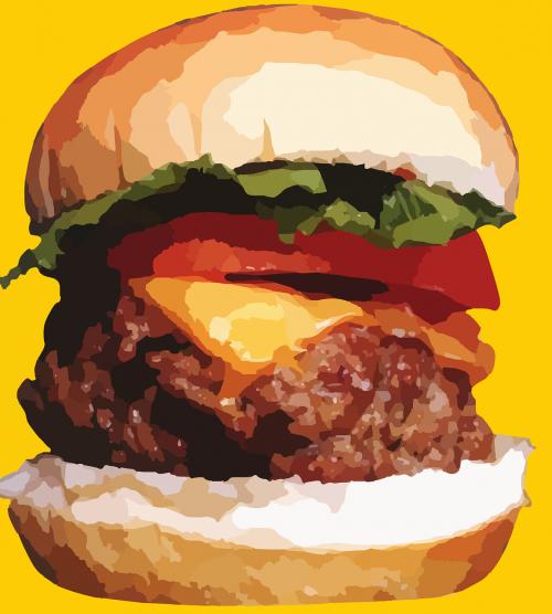 Mėsainis, Sumuštinis, Mesainis, Mėsa, Cheeseburger, Greitas Maistas, Užkandis, Nesveikas Maistas, Mcdonalds, Pietūs, Maistas, Pramoninis Maistas, Nesveika, Skanus, Duona, Valgymas, Greitas Maistas, Kalorijos, Virtuvė, Mityba, Amerikietis, Riebalingas, Nemokama Vektorinė Grafika
