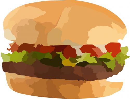 Mėsainis, Maistas, Mesainis, Greitas Maistas, Cheeseburger, Mcdonalds, Nesveikas Maistas, Pramoninis Maistas, Nesveika, Barbekiu, Skanus, Sumuštinis, Duona, Amerikietis, Vakarienė, Nemokama Vektorinė Grafika