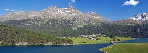 kaimas,Miestas,kaimas,Šveicarija,ežerai,kalnai,vaizdingas,kaimas,peizažas,kaimas,panorama,kraštovaizdis,Alpių