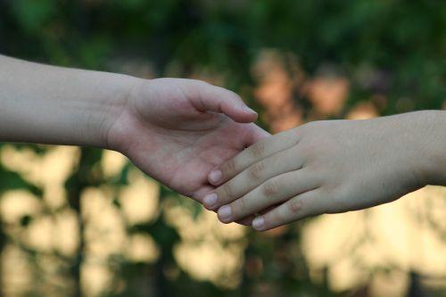 rankos,Draugystė,kartu