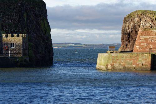 uostas, uostas, jūra, bangos, vanduo, firth, ketvirta & nbsp, upė, bokštai, akmenys, horizontas, žvejyba & nbsp, uostas, uostas, jūros miestas & nbsp, uosto burnas
