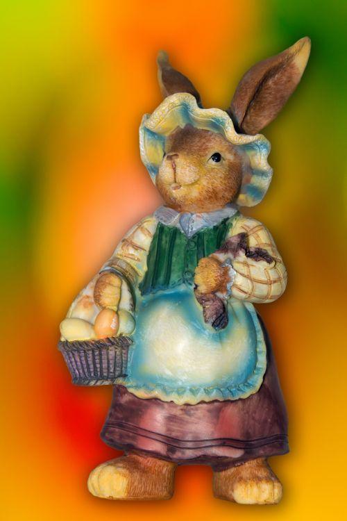 Velykos, Velykų & nbsp, kiškis, kiškis, kiškis & nbsp, Velykos, figūrėlė, žaislas, šventė, pavasaris, pavasario & nbsp, atostogos, gyvūnas, naminis gyvūnėlis, kiškis