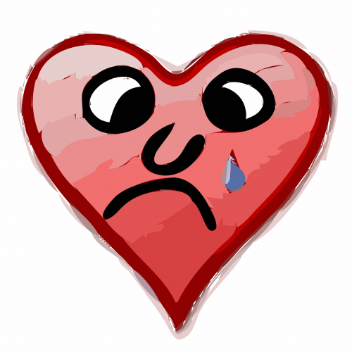 širdis,liūdnas,meilė,nelaimingas,liūdesys,liūdnas,nusivylęs,nemokama vektorinė grafika