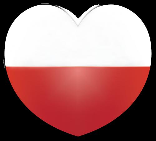 širdis,vėliava,Lenkija,lenkų vėliava,patriotizmas,tėvynė,Lenkijos vėliava,tauta,šventė,lenkų kalba,lenkas,simbolis,grafika,png