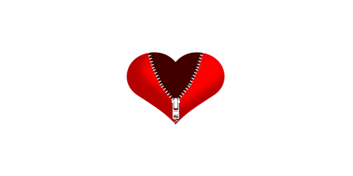 širdis,širdis su užtrauktuku,užtrauktukas,skaldyta širdis,padalintas širdis,meilė,atidarymas,aviamento,konditerija