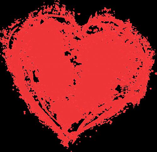 širdis,dažyti skalauti,Grunge,meno,romantiškas,nemokamas vektorinis vaizdas,grungy,meilė,valentine,nemokama vektorinė grafika