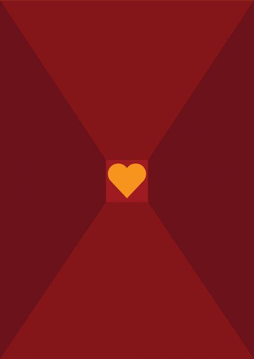širdis,raudona,geltona,meilė,kortelė,dizainas,šviesiai raudona,perspektyva,esamas menas,juoda,minimalistinis menas,minimalistinis,vektorius,vektorinis menas,Photoshop,iliustratorius,photoshop menas,iliustratoriaus menas,yatheesh menas,silueto menas,siluetas,šešėlis,poveikis,plakatas