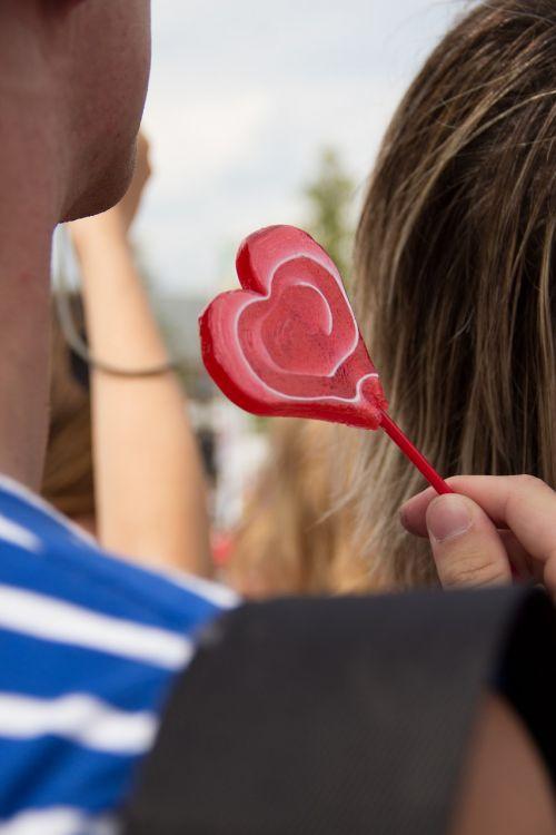 širdis,raudona,meilė,lollipop,įsimylėjes