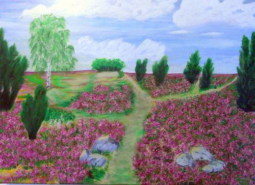 Heide,dažymas,vaizdas,menas,dažyti,spalva,meniškai,paveikslų tapyba,menininkai,kompozicija,kūrybiškumas,meno kūriniai,amatų,drobė,dailininkas,kilniai,grafinis,kraštovaizdis,gamta