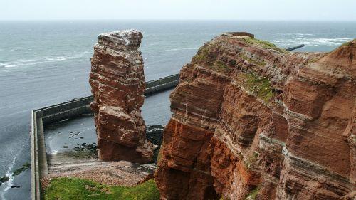 Helgolandas,lange anna,Šiaurės jūra,jūros sala