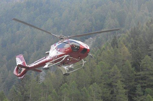 Sraigtasparnis,  Oro Zermatt,  Zermatt,  Tasch