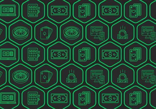 šešiakampis,tikimybė,žalias,juoda,kazino