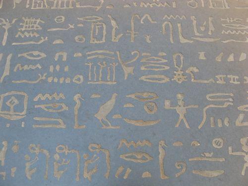hieroglifai,Egiptas,čempionas,figeac,france