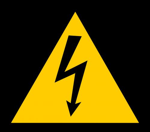 aukštas,Įtampa,ženklas,simbolis,elektra,elektrinis,šokas,pavojingas,pavojingas,saugumas,įspėjimas,rizika,trikampis,geltona,nemokama vektorinė grafika