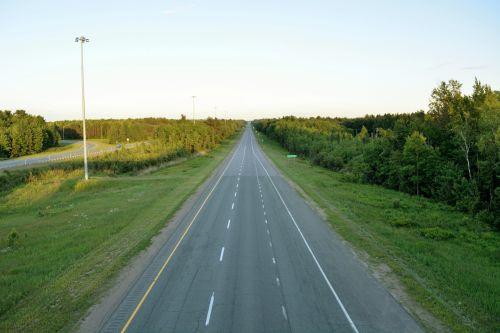 kelias, greitkelis, greitkelis, greitkelis, per & nbsp, būdą, kelionė, judėti, juda, automobilis, sunkvežimis, greitkelis