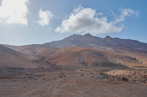 kalnas,lava,ugnikalnio sala,Fuerteventura