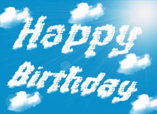 debesys, gimtadienis, dangus, saulė, pasveikinimas, sėkmė, sveikinu, spindesys, saulės šviesa, romantiškas, laimingas, mėlynas, balta, meilė, meilė, žodis, debesis, jausmai, fono paveikslėliai