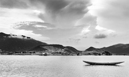 laivas,kalnas,jūra,Vidutinis