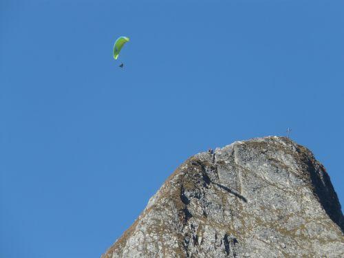 höfats,aukščiausiojo lygio susitikimas,rytų aukščiausio lygio susitikimas,viršūnių susitikimas,kirsti,vakarų viršūnių susitikimas,paragliteris,kalnai,kraigas,alpinistas,lipti,alpinistas,kietas,eksponuotos,paragleris,paragliding,skristi