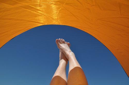 šventė,saulė,atsipalaiduoti,Atsipalaiduoti,vasara,dangus,skėtis nuo saulės