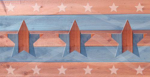 liepos 4 d .,Liepos 4 d .,Nepriklausomybės diena,amerikietis,liepa,šventė,tvora,žvaigždė