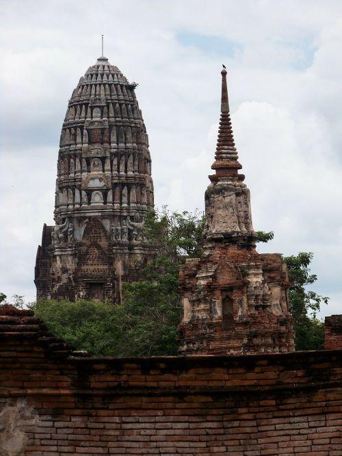 šventas,šventas miestas,ayuthaya,žūti,Tailandas,tikėjimas,budizmas