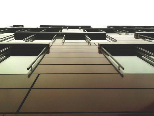 namai,architektūra,fasadas,moderni architektūra,pastatas,gyventi,miestas,Diuseldorfas,dangoraižis
