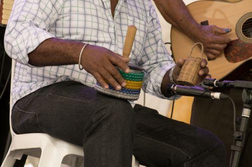 perkusija, caxixi, afoxé, Brazilija, Brazilijos, muzika, muzikantas, spalvos, džiaugsmas, garsas, atokrainienė, žmogus, žaidžiantis perkusiją