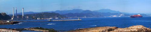 Taivanas, Džilongas, tikimės & nbsp, salos, panorama, tikintis salos pano