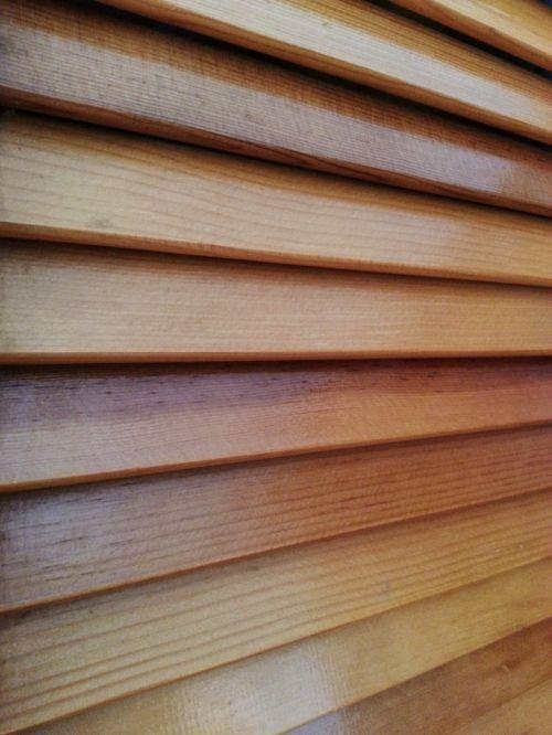 horizontalus, mediena, medinis, žaliuzės, fonas, modelis, horizontalios žaliuzės