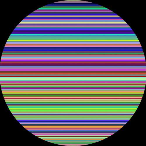 horizontalus, spalva, juostelės, ratas, juoda, fonas, horizontalios spalvos juostelės