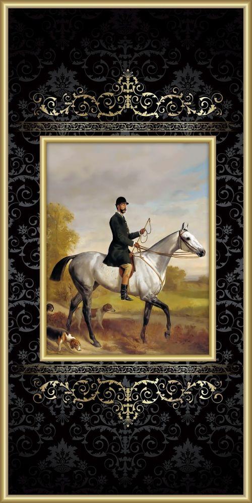 arklys,vyras,victorian,jodinėjimas,jodinėjimas,džentelmenas,Jodinėjimas,raitelis,šuo,skalikas,elegantiškas,gražus,rait,rėmas,paauksuotas,aštuonioliktas amžius,važiavimo įprotis,plakti,skrybėlę,batai