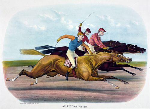 arklys, lenktynių žirgais, arkliai, lenktynių žirgais, lenktynės, jockey, jockeys, šilkiniai, vintage, dažymas, menas, i & nbsp, cameron, šviesus, spalvinga, Laisvas, viešasis & nbsp, domenas, vaizdingas, arkliai, gyvūnai, žirgų lenktynių tapyba