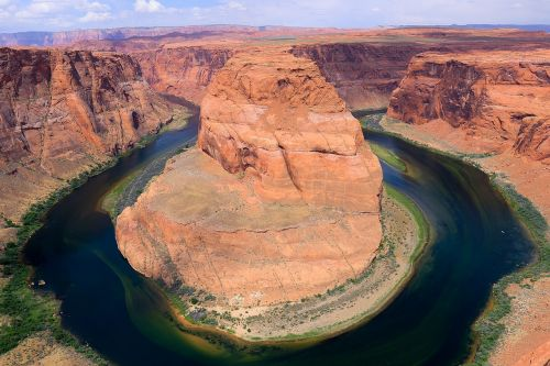 pasagos lenkimas,Arizona,Gorge,upė,gamta
