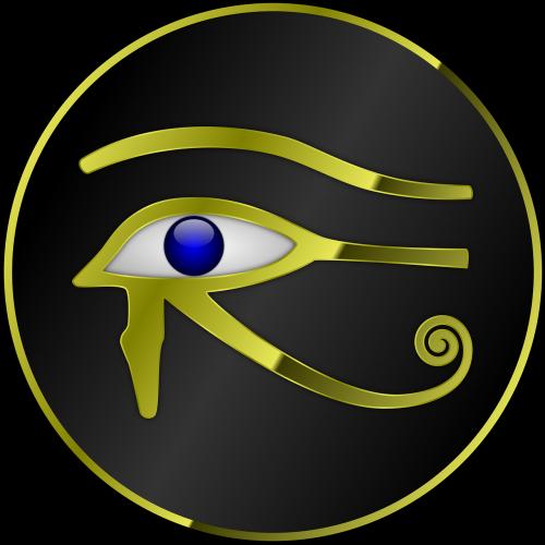 horas,akis,ra,Egiptas,egyptian,auksas,dvasinis