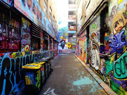 hosier lane,alėja,galinis kiemas,miestas,grafiti,purkšti,gatvės menas,spalvinga,fasadas,menas,miesto menas