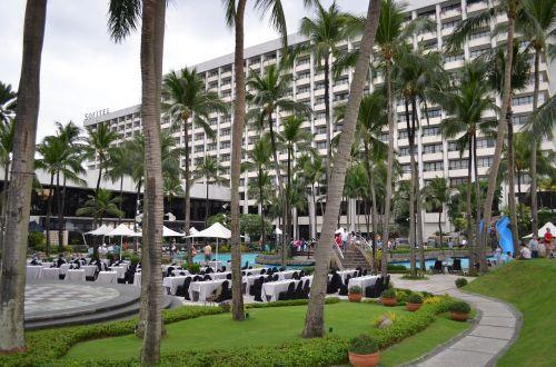 viešbutis,sofitel,poilsio zona,kurorto viešbutis,lauko viešbutis,sodas,kelionė,vasara