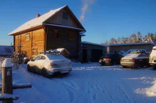 namas,žiema,kaimas,Rusija,namelis,medinis namas,po sniegu,griuvėsiai,holodo,šaltis