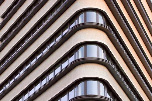 namas, fasadas, modernus, kampas, Miestas, langas, Downtown, Leipcigas, naujas pastatas, betonas, buveinė, architektūra, miestovaizdis, biurų pastatas, Nekilnojamasis turtas, komercinis pastatas, pastatas